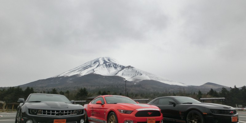 CADILAC  CHEVROLET  RACE TRACK EXPERIENCE in富士スピードウェイ