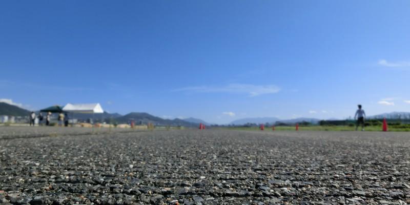 広島西飛行場跡地にて滑走路で0-200mをブッチぎる!!??(動くキマグレ)
