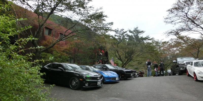 マッスルカーでプチツーリング!IN 「K.T Diner」「もみの木森林公園」!!