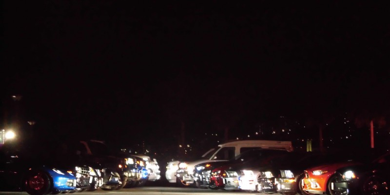 2015 Last nightmeeting in 「MARINA HOP」 with アメ車MAGAZINE