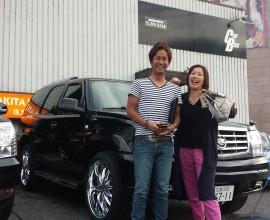 キャデラック エスカレード 初のアメ車は正規ディーラー車で!!